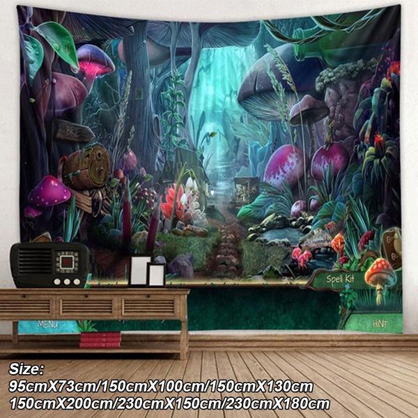 cortinasparasala, Wall Art, Mushroom, Nature