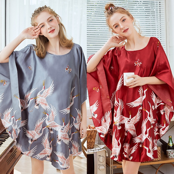 pyjamafemme, Bat, Plus Size, Sleeve