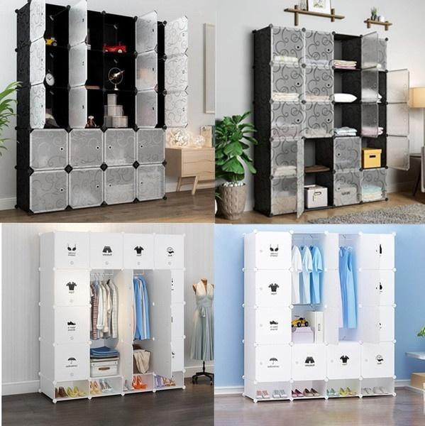 Plastic, diycube, shoescabinet, Closet
