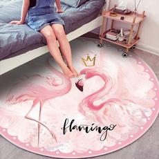 pink, cute, flamingo, Mats
