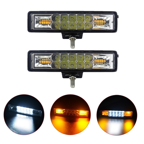 amber, led, Cars, strobelight