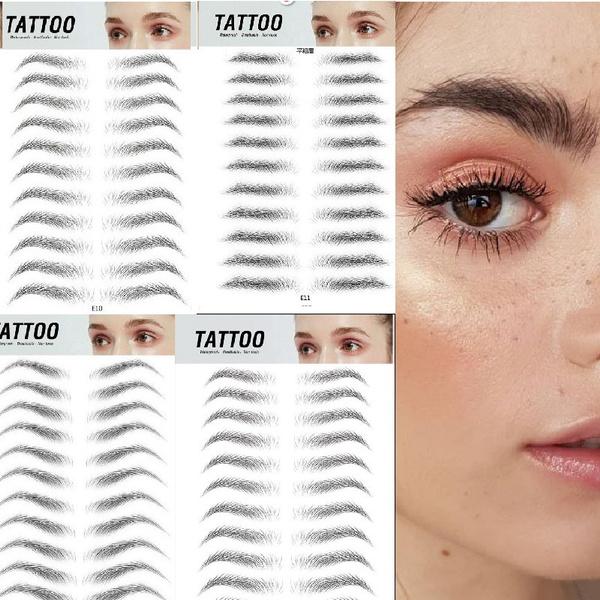 tattoo, eyebrowtattoosticker, Beauty, Eye Makeup