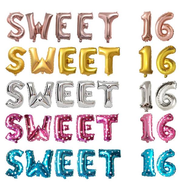 happybirthday, sixteen, 16yearold, Sweets