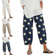 Summer, harem, Plus Size, Casual pants