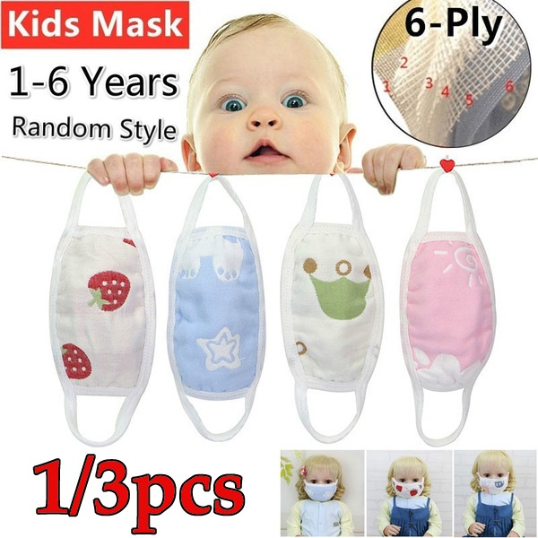 Cotton, babymask, shield, childprotection