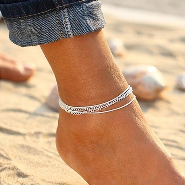 Summer, ankletsforwomen, Anklets, Simple