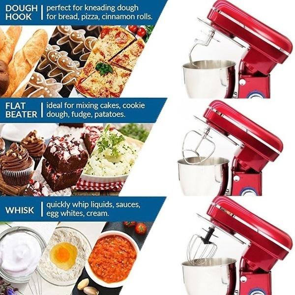 Steel, Mixers, Kitchen & Dining, eggwhiskmachine