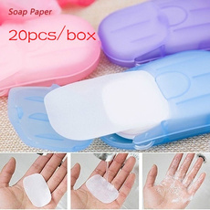 papersoap, bathsoap, Home & Living, Travel