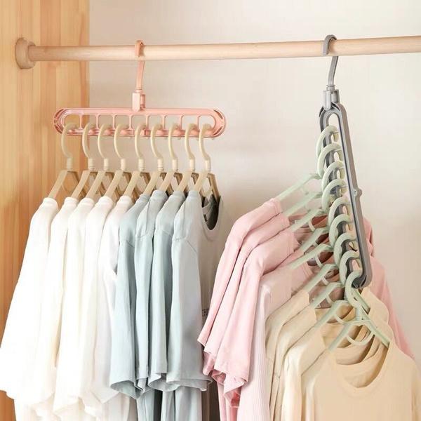 plastichanger, Home Supplies, multifunctionalhanger, storeclothe