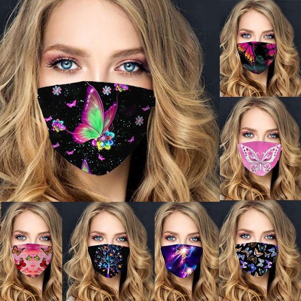 butterfly, Funny, Fashion, mouthmask