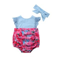 Lace, summerclothingset, princessclothe, sleevelessgirldres
