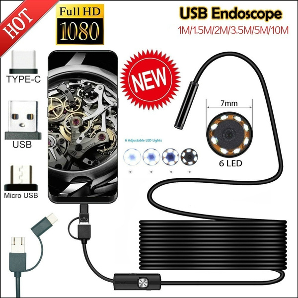 borescope, Computers, usb, Waterproof