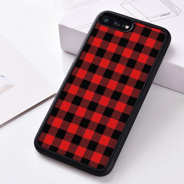 case, iphonecase7, plaid, Case Cover