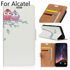 case, alcatelcase, Wallet, leather