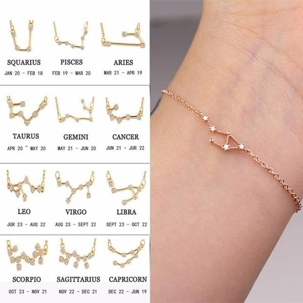 Charm Bracelet, Jewelry, horoscopebracelet, Bracelet Charm