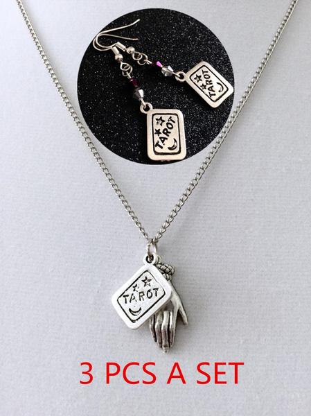 fortunenecklace, gypsyjewelry, Jewelry, gothic