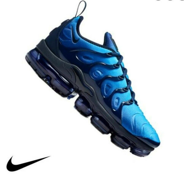 Aspirar Situación destilación  Nike Air Vapormax Plus (US Mens Size 10) Obsidian/Photo Blue/Black 924453  401 | Wish