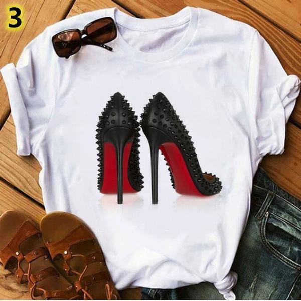 Fashion, Cotton T Shirt, Hip Hop, Shoes