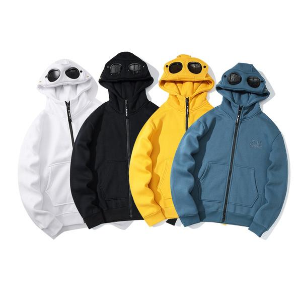 warmjacket, Fashion, hoodedjacket, Goggles