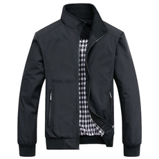 Casual Jackets, Fashion, Coat, koreanversion