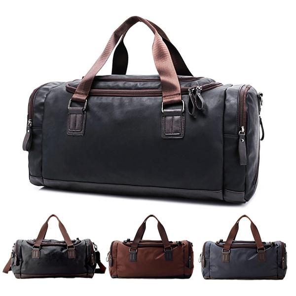 Men, Canvas, weekendbag, travelluggagebag