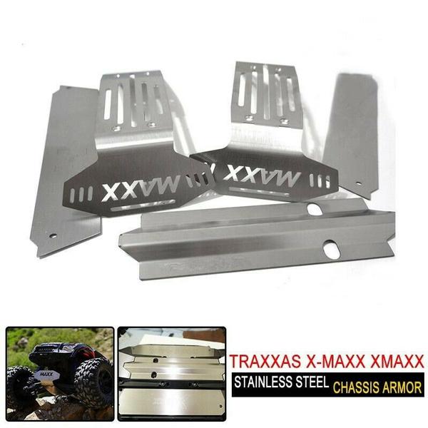 Steel, chassisarmor, Armor, xmaxxchassisarmor