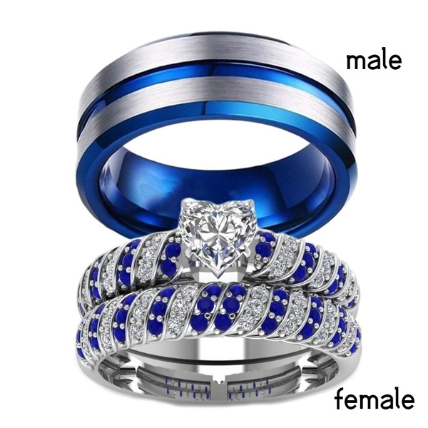 Couple Rings, Heart, Fashion, wedding ring
