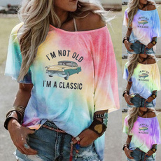 Summer, Fashion, letter print, Classics