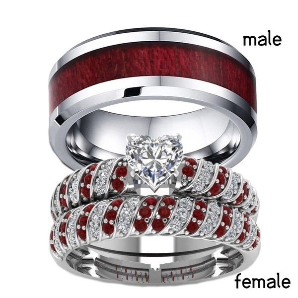 Couple Rings, Heart, wedding ring, Gifts