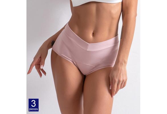Leak Proof Menstruationsperiode Schlüpfer Frauen Unterwäsche Physiologische O5Z4