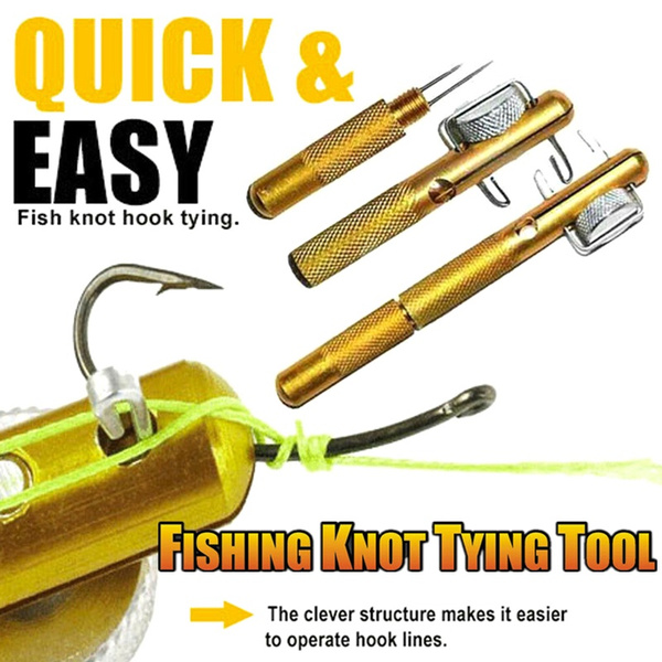 Practical Knot Line Tying Knotting Tool Manual Portable Fast Fishing SuppliesNew
