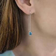 Blues, Sterling, earrings jewelry, Gemstone Earrings