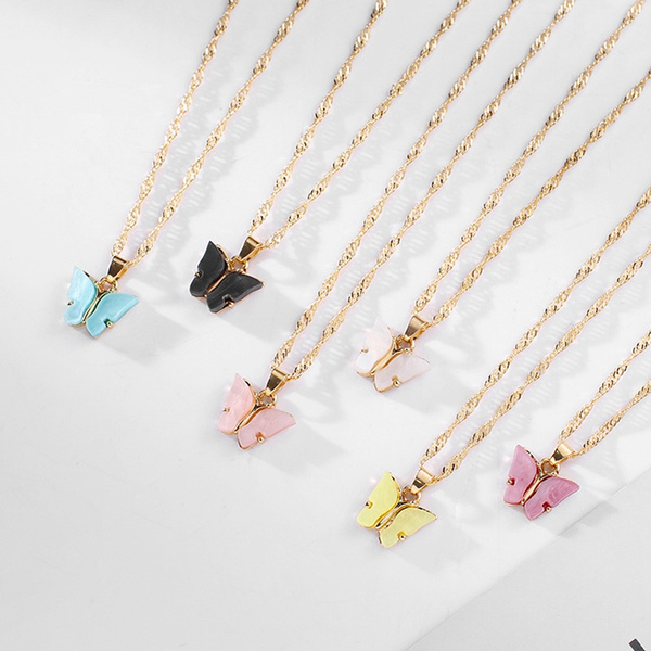 butterfly, Fashion, Jewelry, Chain