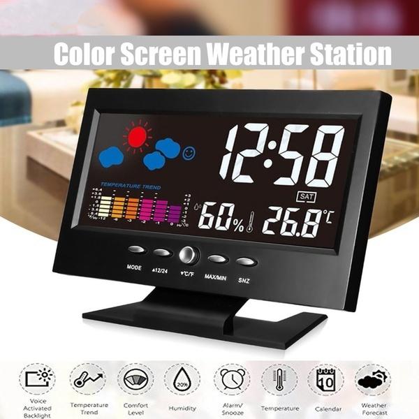 weatherstationclock, humidityclock, Indoor, Monitors