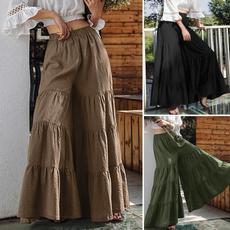 elasticwaistpant, Wool, pantsforwomen, Casual pants