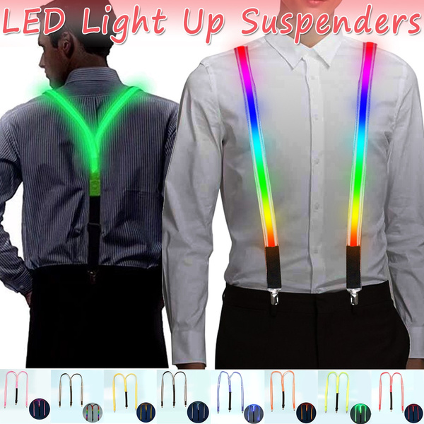 suspenders, led, adjustablesuspender, businessbowtie