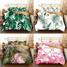 3dbedding, tropicalprint, Bedding, Cover