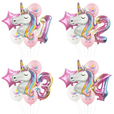 unicornparty, happybirthday, ballooon, foilballoon