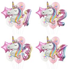 unicornparty, happybirthday, ballooon, foilballoon