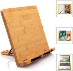 bamboobookholder, Tablets, readingstandbookholder, bamboobookstand