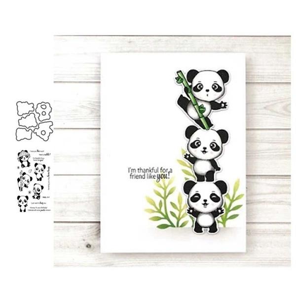 diesforscrapbooking, stencil, Scrapbooking, pandacuttingdie