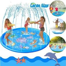 Summer, splashwatermat, Outdoor, funnytoy