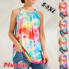 Summer, Vest, Plus Size, Shirt