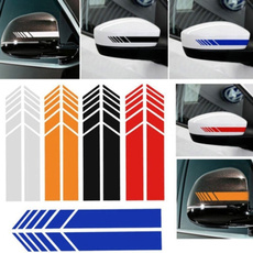 Funny, reflectivemirrorsticker, Cars, Car Sticker