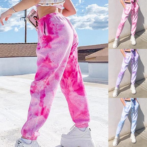 printlongpant, trousers, runningloosejean, Gym