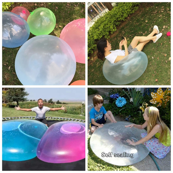Toy, Magic, Inflatable, bubbleball