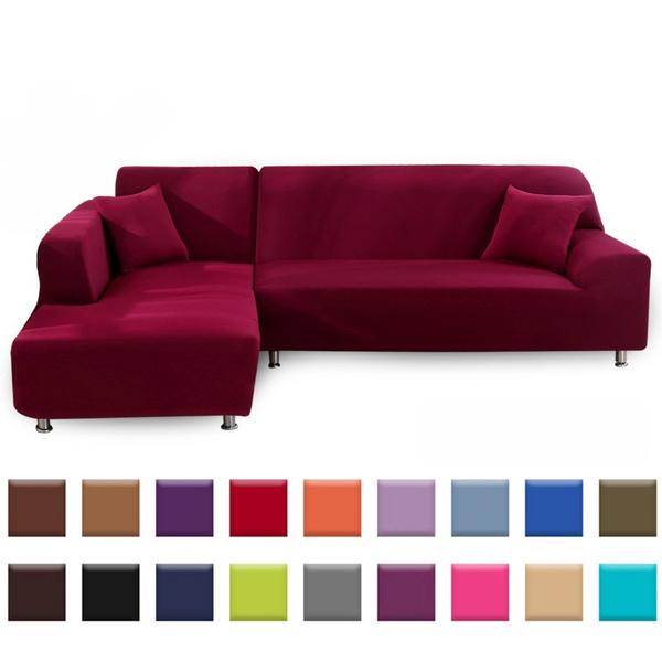 couverturedecanapé, Elastic, Sofas, einfarbigesofabezug