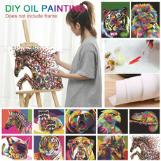 malennachzahlen, canvasoilpainting, art, Colorful