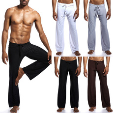 trousers, Fitness, Men, Loose