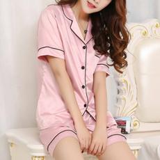 women's pajamas, nightwear, Shorts, Shirt